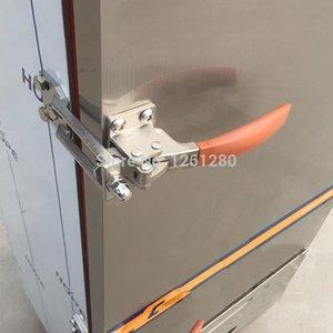 armoire poignée de porte sans levier de transport charnière boîte à vapeur de verrouillage de la porte du four froid magasin charnière cuisine congélateur partie réparation batterie de cuisine T200703