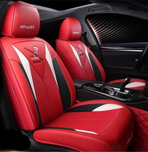 صالح العالمي لزينة السيارات مقعد يغطي على سيدان شحن مجاني تصميم رائع دائم عالية الجودة PU مقاعد جلدية الأغطية لسيارات الدفع الرباعي