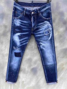 2020 Top Quality D2Jeans Famous Brand Designer Jeans Men Fashion Street Wear Mens Biker Jeans Man Popular Pants