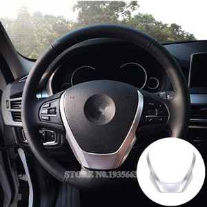 Inner Steering Wheel Sequins Cover Trim For BMW X3 F25 2011-2017 X4 F26 2014-2017 1pcs