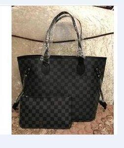 Free shipping women Wallet 2020 New Leather With Wallets For women Purse Wallet Men long Wallet 2piece set 08153