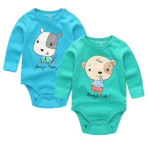 Free shipping 2pcs lot Baby Romper High Quality Character 100% Cotton O Neck Full Sleeve Newborn Baby Clothes Costume Boys