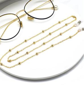 лето унисекс Клипа шарик очки цепь, женщина цепь аксессуары, женские очки цепь, шеи цепь, очки цепь бесплатной доставки