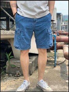 Пляж штаны Повседневных джинсов Мужской одежда Mens 2020 Роскошных дизайнерские Короткие штаны Лето несколько Карманные