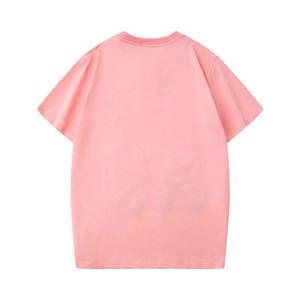 2020 럭셔리 티셔츠 의류 디자이너 티셔츠 블루 블랙 화이트 망 Womens Hip Hop Harajuku Streetwear 이탈리아 프랑스 브랜드