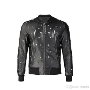 19fw new men's designer jacket print luxury jacket Multi Size best seller black Windsor fashion men's leather jacket q2