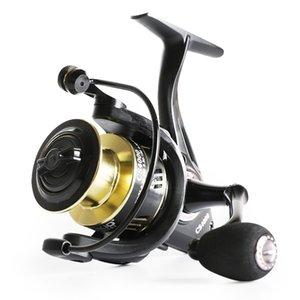 1000-7000 giro del carrete de pesca 5.0: 1 Relación de 6-13KG Max Drag bobina de metal Rocker EVA carrete de pesca de la manija
