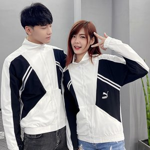 PM Men Women Rose Embroidered Hooded Hoodie Coat Jacket Casual Windbreaker Jacket Outdoor Sport Running Coat Lovers Clothing 207368