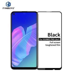 Para Huawei P40 Lite E / Pantalla Y7P PINWUYO 9H 2.5D completo de cristal templado de Cine
