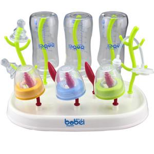 3 Style de biberons pour bébé Nettoyage Etendoir Titiller Pacifier Porte-gobelet