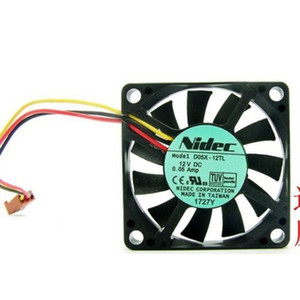 Original NIDEC 5010 12V Lüfter D05X-12TL 5CM mute Industrie-Computer CPU-Chassis Kühl