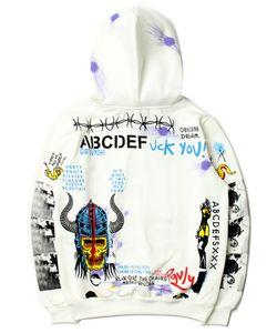 Mens Hoodie Sweater Terry Printed Pattern Jumpers For Men Women Hoodie Tops Spring Autumn Sweatshirts