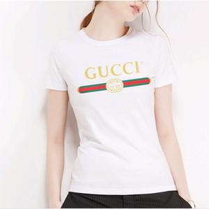 Labbra Stampato progettista delle donne magliette di cotone traspirante Plus Size Womens Top Summer Street Style Femminile Abbigliamento