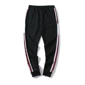 Designer calças dos homens feitos na Itália Homens Novos Sweatpants letras impressas 19FW Moda Corredores da trilha Pant Clothes M-2X Asiático Tamanho