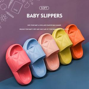SKHEK CHILDREN'S النعال الصيف BOY'S الرئيسية أحذية حمام مضاد للانزلاق لينة وحيد بنات صنادل Lippers الطفل