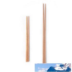 Reutilizável Kitchen Sushi Food Chopsticks Natural Wood Noodles Chopsticks Cozinha Saudável fritada de madeira Super Long Chopsticks BH1587 TQQ