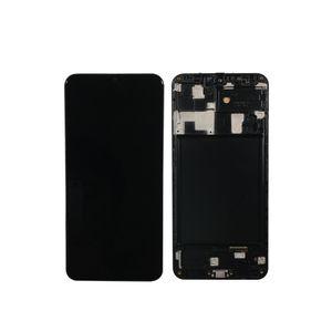 Samsung Galaxy A20 A205 SM-A205F LCD Ekran, çerçeve ile Samsung A20 A205 A205F lcd için Dokunmatik Ekran Sayısallaştırıcı Değiştirme için