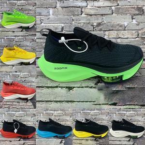 2020 Zoom Alpha Wassermelone Mens fliegen Schuhe schwarz elektrische grün racer blau gezüchtet Tour gelb Volt Männer Frauen stricken Turnschuhe nächste% Laufen