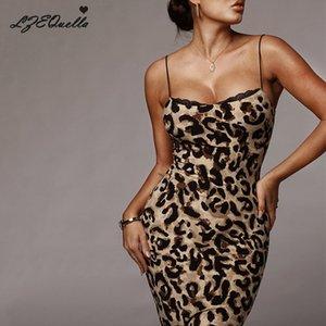 LZEQuella Kadınlar Seksi Dantel Baskı Askı Elbise Backless İnce Kalça Elbiseler Bayanlar Kolsuz Parti Kulübü Streetwear Vestido NZ1562