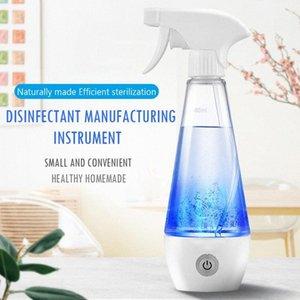 Hydrogen portátil garrafa de água de desinfecção líquido eletrolítico Gerador de hipoclorito de sódio Fazendo Proteção máquina de pulverização 91QD #