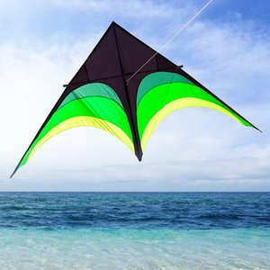 Новый Kirin змей большой Kirin змей тело лидирующий Prairie взрослых очень большой зонт ткань Вэйфан ветер летающий треугольник гигантский корпус