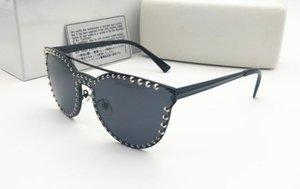 Tendência Óculos Homens / Mulheres Óculos de Sol Blackout New Sunglass Europeu Marca Americana Moda 2019 Eyewear e 2138 Rijge