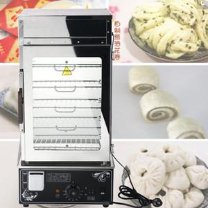 lewiao Ticari Elektrikli Gıda Steamer Görüntü Kullanışlı Fast Food buharlama makina Bun Steamer Ekmek Mama Isıtıcı