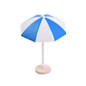 Mini Landscape Ornament Beach Suns Umbrella Model Layout Toy Miniature Dollhouse Scenes Decoration