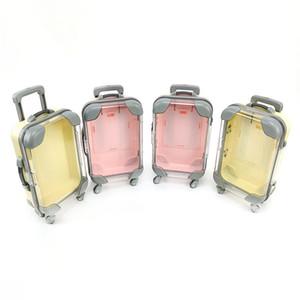 3D Vison Cils Forme bagages Boîtes de rangement Faux Cils emballage boîte vide Cils Lashes Case WB2320