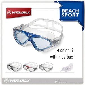 Winmax Polycarbonate Swimming Goggles Excellent Waterproof Swimming Glasses 100% U. V. Anti-fog protection Swimming Goggles for Diving