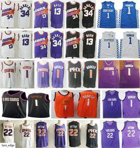 2019-20 New PhoenixSnus Devin 1 Booker Jersey DeAndre 22 Ayton Josh 20 Jackson etro Steve 13 Nash Charles 34 Barkley Basketball Jerseys