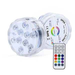 잠수 할 수있는 LED 조명, Inground 풀과 자석의 전체 방수 풀 조명, 흡입 컵은 색상 중 조명 변경