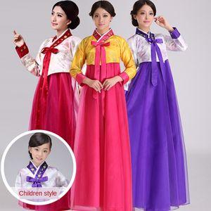 nRNRH Etnik stil işlemeli geleneksel Kore Kore kadın giyim dachangjin dans koro performansı Dans Costume National costumec
