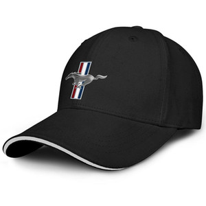 Unisexe Ford Mustang originale logo EcoBoost mode baseball baseball Sandwich Chapeau pilote classique Camion Cap Distressed à vendre Ford voiture