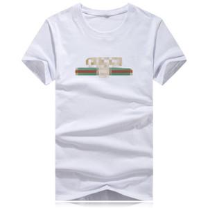 2020Hot vente Womens Designer femmes T-shirt imprimé court SleeveTee pour des T-Shirts Casual Summer Hommes Femmes