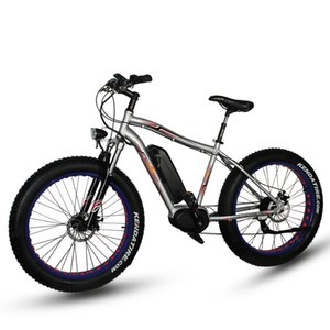 26inch elektrischen Mountainbike Fett-Typ 4.0 Schnee Strand Langlauf- bicyle Bafang Mitte Motor fette Reifen ebike pas Li-Ionen-Antrieb
