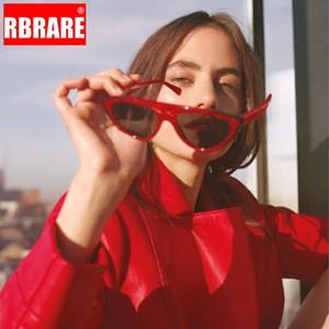 RARERB 2019 Street Beat Sunglasses Women Brand Designer Cateye Sun Glasses For Women Outdoor Vintage Oculos De Sol Feminino