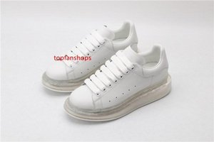 New upgraded version of men and women high quality sports shoes transparent rubber platform outdoor leisure travel running walking shoes
