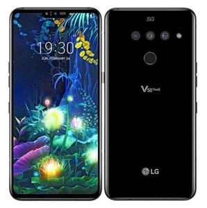 """تم تجديده مفتوح LG V50 شيء becouse لاني V500N الثماني الأساسية 6GB / 128GB 6.4 """"الهاتف المحمول الثلاثي كاميرات 16MP 5G"""