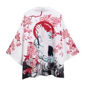 Abbigliamento etnico Kimono cardigan uomini giapponesi Obi Maschile Yukata maschile Haori Samurai giapponese Abbigliamento Costume tradizionale