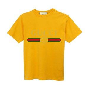 도매 여름 패션 브랜드 디자이너 T 셔츠 남성 T 셔츠 부부의 스포츠 고급 T 셔츠 힙합 디자이너 캐주얼 여성 의류 S-4XL