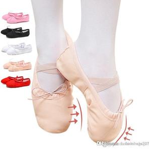2pcs ballo scarpe da ballo Bambino Gril Danse inferiore molle Scarpe da ginnastica classiche dei pattini di balletto Cat Claw Soft Formazione signora Shoes Designer