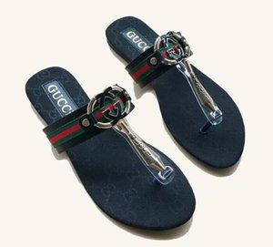 hot 2021 Women sandals gggbrand Designer Shoes flip flops size 35-42 MULE Slide Sandal Fashion Lady Letter Print Leather Rubber Sole Slipper
