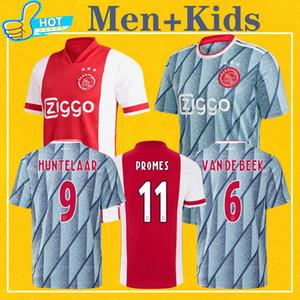 اياكس الرجال الأطفال 2021 المنزل بعيدا جيرسي مايوه AJAX كيت كرة القدم جيرسي NOURI VAN DE BEEK ZIYEC هونتيلار PROMES قميص 20 21 لكرة القدم