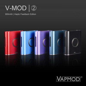 100% Vorlage VapMod Vmod 2 VV Box Mod 900mAh Batterie Vaporizer Vape Variable Voltage II Mods Kit für 510 Themen-Cartridge Carts Atomizer
