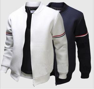 Moda otoño-chaqueta de bombardero de los hombres ocasionales al aire libre Coats Veste Homme Jaqueta Moleton Masculina Chaqueta Hombre Casaco envío gratis