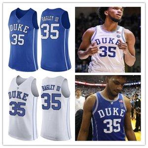 Marvin Bagley III Jersey Duke Blue Devils Trevon Duval NEW königsblau weiß Rundhalskragen genähtes NCAA College Basketball-Trikots