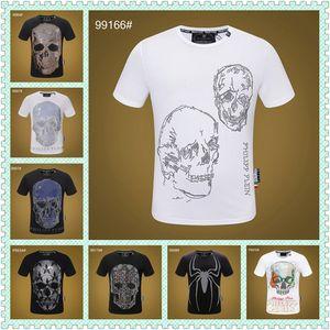 Luxury Mens Designer T Shirts Summer T Shirt Crane Printing Designer T Shirt Hip Hop Fashion Men Women Short Sleeve Tees Size M-3XL