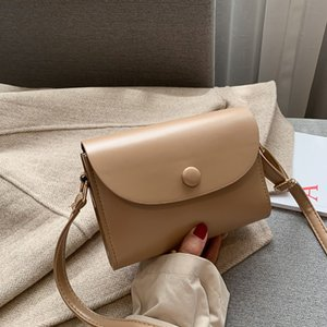 Crossbody Bags For Women 2020 Mini Pu Leather Shoulder Women Small Square Bag Versatile Simple Shoulder Messenger Bag