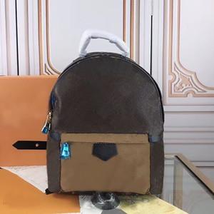 2020 новый Pop Candy Красочного BACKPACK BAG Рюкзак Сумки натуральной кожи сумка женщин плеча тотализатор сумка